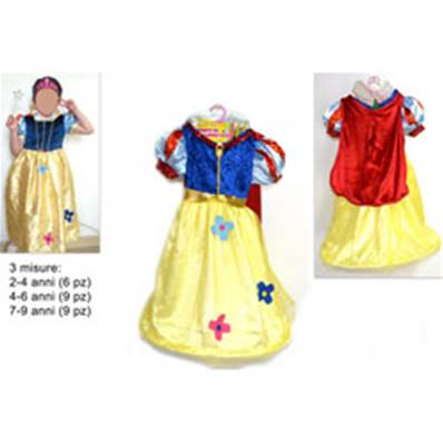 Costume Blanche Neige 2-4/4-6/7-9