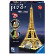 Puzzle 3D Tour Eiffel Illuminee