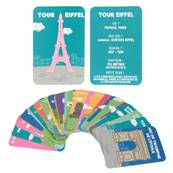 Cartes Educatives J'apprends Les Monuments x30