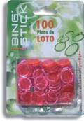 Blister 100 Pions Magnetiques