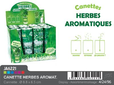 Cannette Herbes Aromatiques