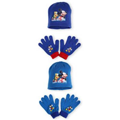 Set Bonnet + Gants Mickey