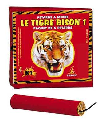 Bison 1 - Demon King Size - 40 paquets de 6 pétards