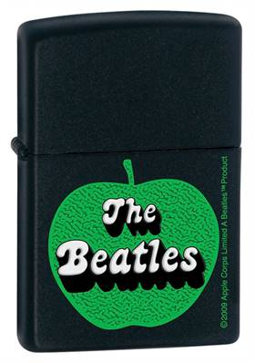 Zippo The Beatles Apple Black