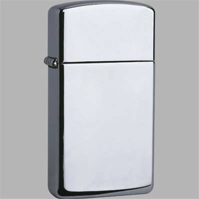 Zippo High Polish Chrome Slim