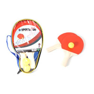 Etui Zip 2 Raquettes + 2 Balles ping pong