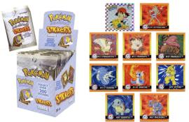 Sachet 10 Stickers Pokémon