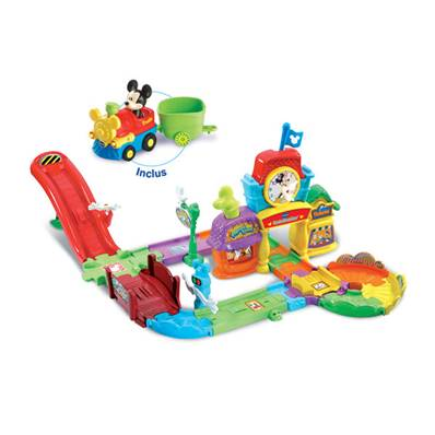 Tut Tut Bolides Le Circuit Train de Mickey