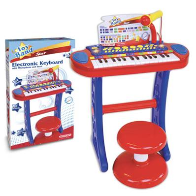 Orgue Electronique+ Micro+Tabouret