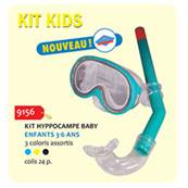 Kit Hippocampe Kids ( Couleur non contractuelle)