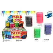 Pate Slime Baril Neon Mini 30 Grammes 6 Couleurs