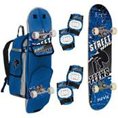 Skate + Protections + Sac de Transport