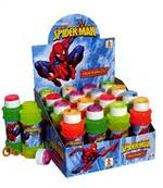 Prés. 16 Maxi Bulles Spiderman