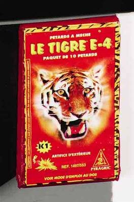 Tigre ZE4 - Super Demon - 100 paquets de 10