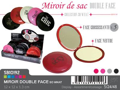 Mirroir De Sac Grossissant