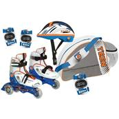 Roller Inline 33-36 + prot+ casque +sac