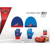 Set Bonnet + Gants Cars T.Unique