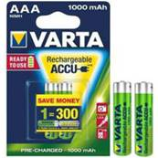 Blister 2 R03 Rechargeables 1000 ma/h