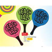 Raquette Beach Ball 8 cmm Fluo 3 assortis