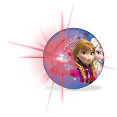 Flash Balle Lumineuse Frozen  10 cm