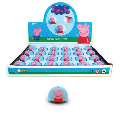 Gyro Push Toy Peppa Pig