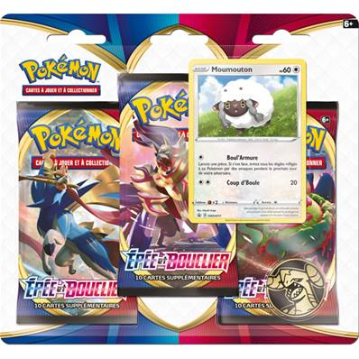 Blister Pokemon 3 Boosters