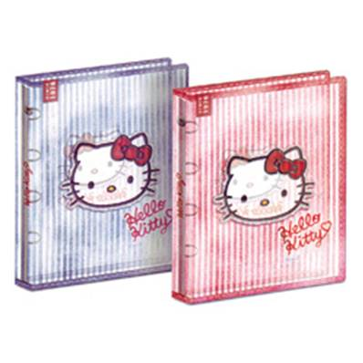 Classeur souple polypro  A4 HELLO KITTY
