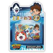 Portefeuille + Montre Yokai Watch